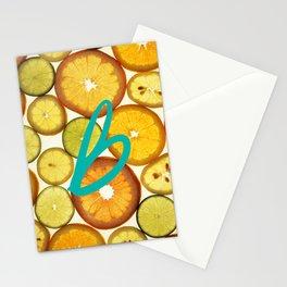 Citrus - Citron (Recettes du Bonheur) Stationery Cards