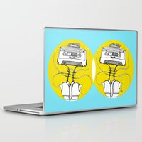 cassette Laptop & iPad Skins featuring Cassette by Molly Yllom Shop