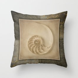 GOLDEN SEA PART 3 Throw Pillow