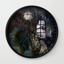Alchemist's Lab Wall Clock
