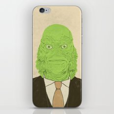 Young Professional from the Black Lagoon iPhone & iPod Skin