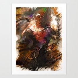 League of Legends GOD FIST LEE SIN Art Print