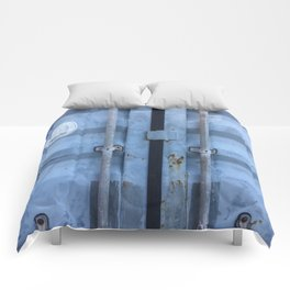 Shipping Container Doors Comforters