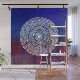 Fall Nights Mandala Wall Mural