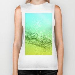 Tropical Beach Lady Glitter #4 #shiny #decor #art #society6 Biker Tank