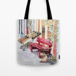 De Aanzet and the Dog Tote Bag