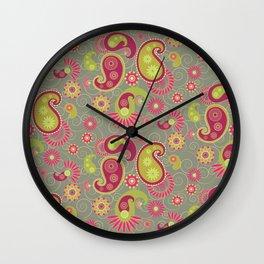 Sweet olive petrichor Wall Clock
