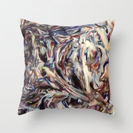 Mortality Glump Throw Pillow