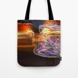 Hoopers spin Tote Bag