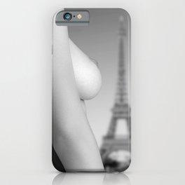 Nude in Paris iPhone Case