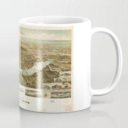 Panorama of Norfolk, Virginia and Surroundings (1892) Coffee Mug