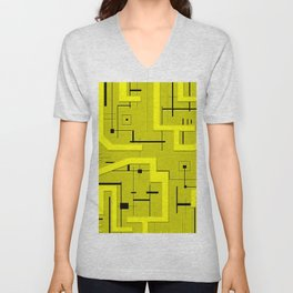 Golden Voltage Unisex V-Neck