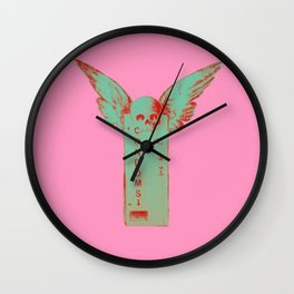 Something For The Weekend (Pink) Wall Clock