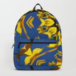Yellow Coneflower, Ratibida, Kaleidoscope 793 #society6 #kaleidoscope Backpack