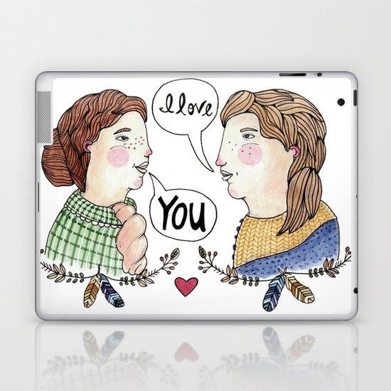 Lady Love Laptop & iPad Skin