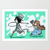Hey dear  Art Print