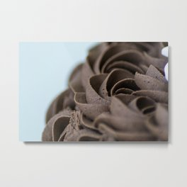 Icing Rosettes Metal Print