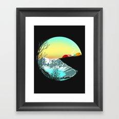 Pac camp Framed Art Print
