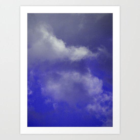 Grace Purple version Art Print