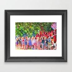 Graduation Song Framed Art Print