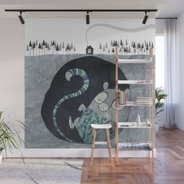 Let's bore for geothermal energy! Wall Mural