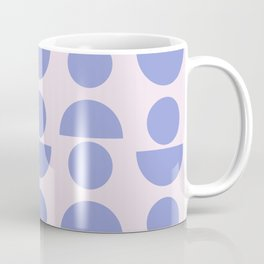 Shapes in Periwinkle Coffee Mug