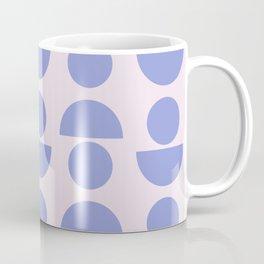 Shapes in Periwinkle Coffee Mug