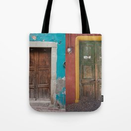 Mexican Doors Tote Bag