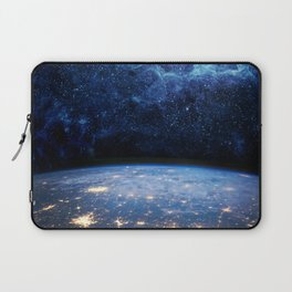 Earth and Galaxy Laptop Sleeve