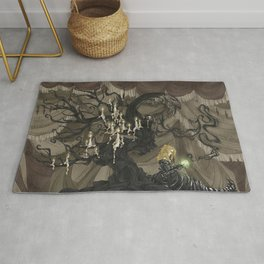 Midnight Circus: The Fortune Teller Rug