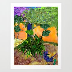 mesilla in december Art Print