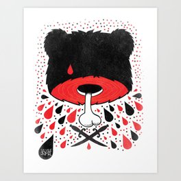 SALVAJEANIMAL headless Art Print