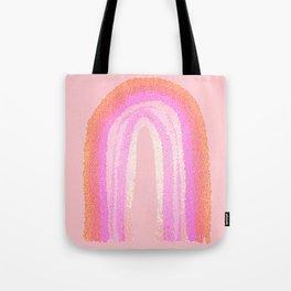 Rainbow rose orange Tote Bag