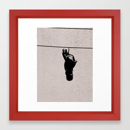 The Shoeline Framed Art Print