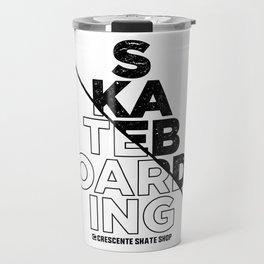 Skateboarding Travel Mug