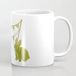 Two Rabbits Coffee Mug