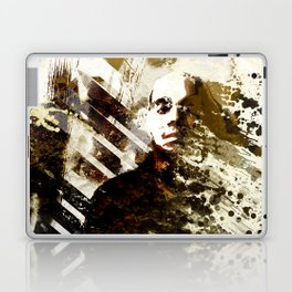 Splatter-Portrait Laptop & iPad Skin