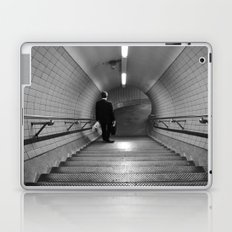 Empty London Underground stairs Laptop & iPad Skin