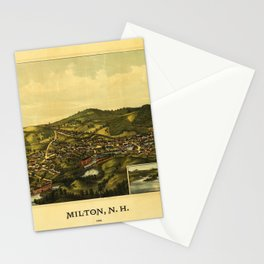 Aerial View of Milton, New Hampshire (1888) Stationery Cards