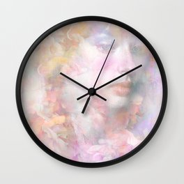 The flowers of my secret Wall Clock