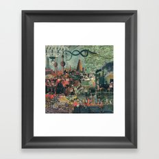 Seed Stone Framed Art Print