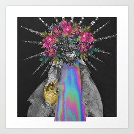 invisible hand Art Print