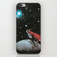Spatial riding iPhone & iPod Skin