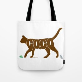 Cocoa Cat Tote Bag