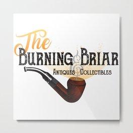 The Burning Briar Metal Print