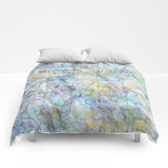 Smoke pattern Comforters