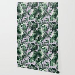 Tropical Jungle Leaves Dream #8 #tropical #decor #art #society6 Wallpaper