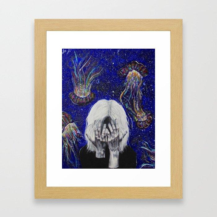 Junk Mind Framed Art Print