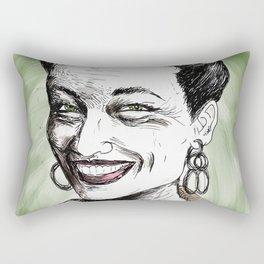 Simone de Beauvoir Rectangular Pillow