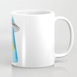 Alien Cat UFO ufology Kitty Flying Saucer Gift Coffee Mug
